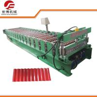 Buy cheap PPGI PPGL GI Steel Sheet Corrugated Steel Panel Roll Forming Machines 762 from wholesalers