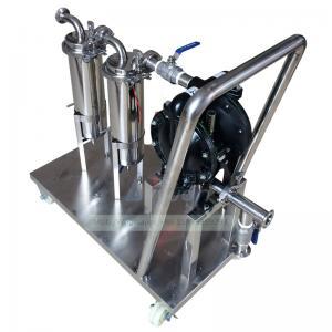 Buy cheap Trolley Water Pump Set 2.0Mpa SS316 Liquid Filtration Machine product