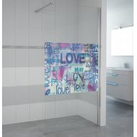 China NEW product walk in shower bath screen 6817 on sale