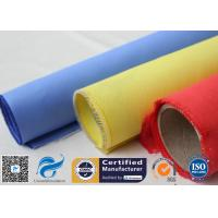 Buy cheap Red Silicone Rubber Coated Fiberglass Engineer Acoustic Insulation Fabric Material product