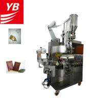 Buy cheap YB-180C Automatic Vertical filter tea filling machine with inner and outer sachet Packing machine from wholesalers