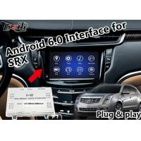 Buy cheap Plug&Play Android 6.0 GPS Navigation Interface for Cadillac SRX XTS ATS EXCALADE with Waze Yandex Online Map from wholesalers