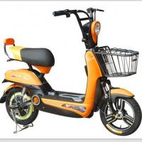 Buy cheap Steel Frame 48V12Ah Lead Acid city Electric Bike with 350W Brushless Motor product