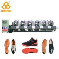 Buy cheap Energy Saving Static Rubber Sole Making Machine Mono Color 5.3*3.5*2.6m product