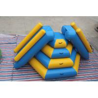 Buy cheap Fireproof Material Double Inflatable Water Slide Airtight Tower Slide For Park product