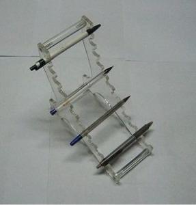 Buy cheap High-end acrylic pen rack dispaly shelf product