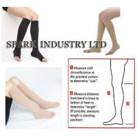 Buy cheap Knee High Medical Pregnancy Compression Stockings With Open Toe product