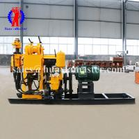 Buy cheap Huaxia master supply 130m depth high speed water well drilling rig/rock core sampling drill equipment for price product
