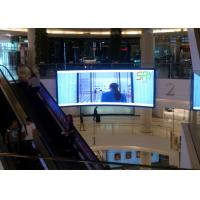 Buy cheap P3 Advertising Curved LED Screens / concert led curved display High Brightness product