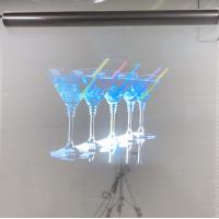 Buy cheap Holographic Projection Foil Transparent Rear Projection Screen Film product