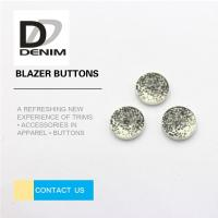 Buy cheap Decorative Gray Novelty ing Buttons , Two Hole Button 20L 24L 26L 28L product