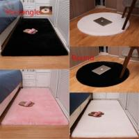 Buy cheap Living room Kinds room bed room100% Faux rabbit fur rug carpet Polyester carpet rug Black/Brown/Gray/Red/White product