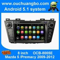 Buy cheap Ouchuangbo car dvd head unit android 5.1 for Mazda 5 Premacy 2009-2012 with HD 1024*600 radio music playing product