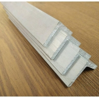 Buy cheap Aluminium Angle Trim 50mm for Automotive Decoration 5mm Wall Thickness product