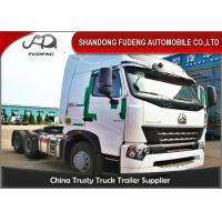 Buy cheap CNHTC HOWO Tractor Head Trucks 420 Horse Power HW1697 Single Reduction Axle product