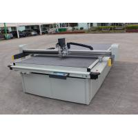 China Automatic Control CNC Gasket Cutting Machine With Two Interchangeable Tools on sale