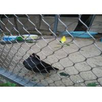 Buy cheap High Strength Bird Protection Mesh , Knotted Type Stainless Steel X Tend Mesh product