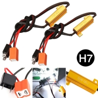 Buy cheap H7 50W LED Headlight Decoder , 2PCS H7 LED Canbus Decoder from wholesalers