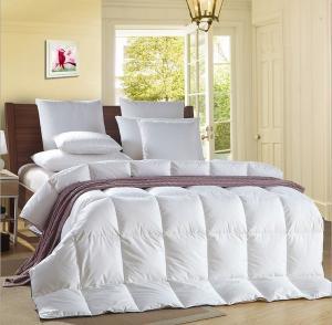 Buy cheap Alternative Satin Piping White 0.9D Light Blue Quilt Hotel Household Comforter product