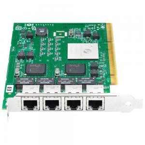 Buy cheap 4 Ports Quad Port Gigabit Ethernet Adapter Card 1 Gbps Full Height Bracket product