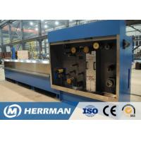 AC / DC Driven Control Wire Drawing Equipment , Multi Heads Wire Manufacturing Machine for sale