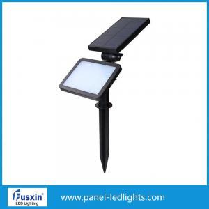 China IP65 high quality 2W led solar garden light solar bollard solar lawn light on sale
