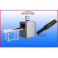China Auto Alarm X Ray  Security Scanner , Airport Security Scanners with Handheld Metal Detector wholesale