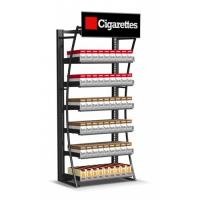 Buy cheap Retail Cigarette Display Stand , Smoke Shop Wall Hanging Display Case product