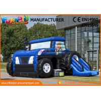 Buy cheap Commercial Party Jumping Castles With Prices / Inflatable Tractor Bounce House product
