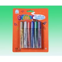 Buy cheap Washable safe Multi color Glitter Stationery Glue For Pupils / Kids product