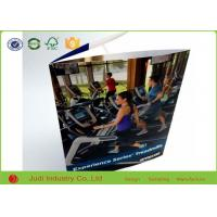 China 80 Pages Glossy Lamination Custom Brochure Printing Foldable 8.5 X 11 Inch Full Size on sale