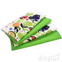 Buy cheap Simple Designs Custom Microfiber Cloth , Embroidered Microfiber Towel 30*60 Fastdry product