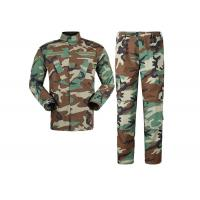Buy cheap Multi Camo Woodland Military Combat Uniform,Design Your Own Military Uniform product