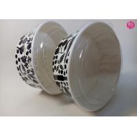 Custom Food Grade 44oz / 34oz / 38oz Paper Salad Bowls With Glossy Finished