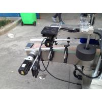 Buy cheap Cold / Wet Melt Glue Label Applicator Machine For Round Bottle 50HZ 380V Power Supply product