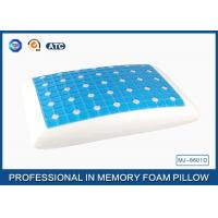 China Reversible Ventilated Cooling Gel Memory Foam Pillow With Air Holes 60X40CM Size wholesale