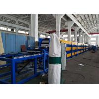 Buy cheap 12-15 m/min Aluminium 0.4mm—0.8mm thickness PU Sandwich Panels with Hydraulic from wholesalers