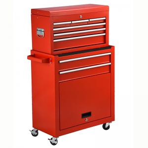 Buy cheap Swivel Wheels 8 Drawer Rolling Tool Chest product