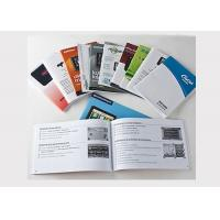 Buy cheap 16 Page Color Booklet Printing A4 Brochure Printing Matt Lamination OEM Available product