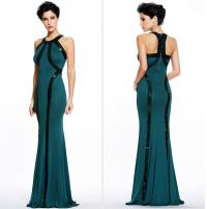 Buy cheap 、緑優雅な、個人化された単語の背部プロムの服赤いLXLSQ-169/3 product