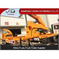 Buy cheap 40ft Side Loader Trailer Chassis Truck Trailer , China Box Loader Side Lifter Truck product