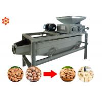 Buy cheap Almond Shelling Peanut Processing Machine 220v Voltage 2.2 Kw Power product