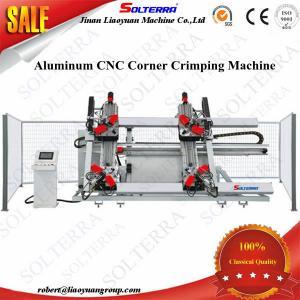 En existencia puertas principales de las ventanas del CNC cuatro del aluminio que combinan precio de la máquina