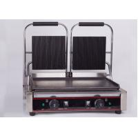 Buy cheap Double Heads Electric Sandwich Griddle Snack Bar Equipment 110V/220V product