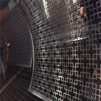 Buy cheap stainless steel curved panel decorative curved screen for room partition product
