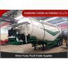 Buy cheap 3 Axles Bulk Cement Tanker 30-75 CBM Mechanical / Air / Bogie Suspension from wholesalers