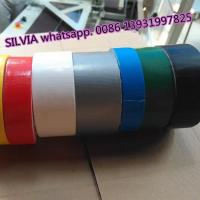 Buy cheap Heavy duty protection 70 mesh silver cloth duct tape for duct wrapping and bonding product
