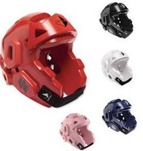 China Karate Taekwondo MMA PPE Safety Gear , Protective Sports Helmet PU Coating on sale