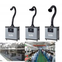 Buy cheap Four Wheels Portable Chemical Fume Extractor System For Purification , High Efficiency product