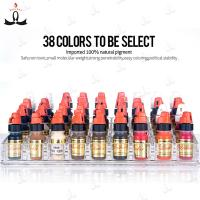 Buy cheap Supply big quantity 38 original colors pigment choose for permanent makeup eyebrow tattoo ink product